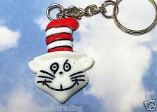 DR SUESS CAT IN THE HAT KEYRING/Keychain/bag charm