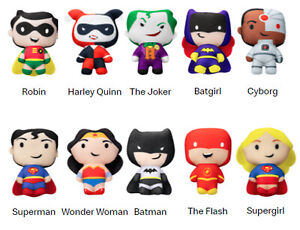 Super Heroes 2021 McDonald's Happy Meal Plush Toys Character DC