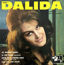 "Dalida 7"" Les Marrons Chauds - France (VG+/VG+)"