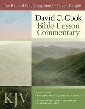 David C. Cook's KJV Bible Lesson Commentary 2009-10: The Essential Study