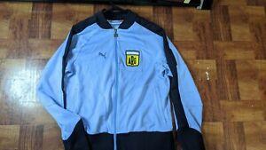 Puma Argentina champion copa america Track Jacket Messi Jacket XL Soccer VTG