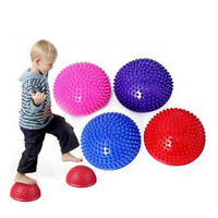 2Pcs Hemispheres Stepping Stone Massage Ball Kids Sensory Balance Training Toy3c