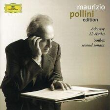 Debussy - 12 Etudes / Boulez -  Second Sonata MAURIZIO POLLLINI EDITION OVP