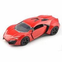 1/32 Jada Fast and Furious 7 Lykan Hypersport Car Model Red Diecast Vehicle