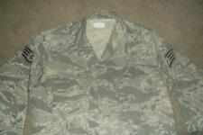 Military ABU Shirt 44R Man's Tiger Stripes Airman Battle Uniform USAF #303
