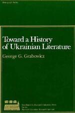 Toward a History of Ukrainian Literature (Harvard Series in Ukrainian Studies)