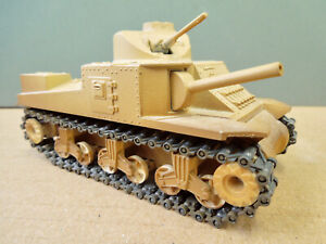 SOLIDO US M-3 LEE TANK - METAL BODY & TRACKS - EXCELLENT CONDITION - 1:50 SCALE
