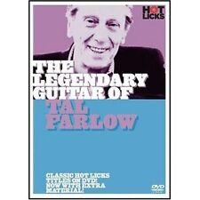 *SALE* HOT LICKS DVD LEGENDARY GUITAR OF TAL FARLOW JAZZ LEARN TO PLAY