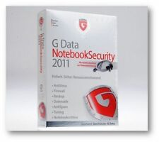 G Data NotebookSecurity 2011 mit Notebookschloss // NEU !!!