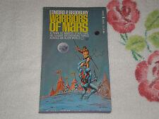 WARRIORS OF MARS by EDWARD P. BRADBURY  -AKA - MICHAEL MOORCOCK  -Signed-