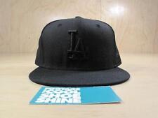 NEW ERA MLB LOS ANGELES DODGERS FITTED BASEBALL HAT BLACK 7 1/2 LA NLCS