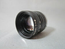 TINY HIGH RESOLUTION JAPAN FAST 1.9/35MM C-MOUNT LENS for 16MM MOVIE CAMERA