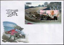Finland FDC 1999, Mika Hakkinen F1 World Champion Mint