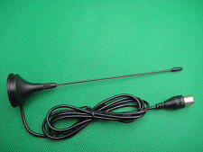 INDOOR/OUTDOOR CAR/HOME HDTV TV Male PAL RADIO Aerial Antenna MAGNETIC BASE