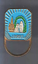 RARE PINS PIN'S .. RELIGION PELERINAGE SAINTE VIERGE EGLISE 3D LOURDES 65 ~BC