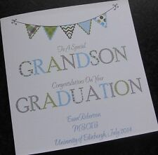 Personalised Congratulations On Your Graduation Card (GR2) Male or Female