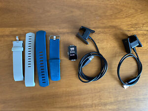 Fitbit Charge 2 HR Smart Watch/Activity Tracker, 2 Wristbands, 2 Charger Cords