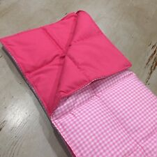 50cm x 30cm 1kg Weighted Therapy Lap Blanket, Autism, ADHD, Calming, Pink