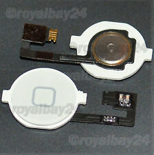 iPhone 4 Home Button + Botón Cable Flexible 4g TECLA BLANCO