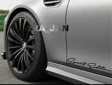 Sport Edition Decal Sticker racing car door emblem logo performance motorsport