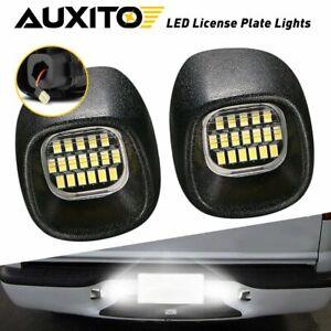 Full LED License Plate Light Tag Lamp For 1998-2005 Chevy Blazer S10 GMC Jimmy