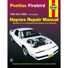 Pontiac Firebird All Models 1982-1992 Haynes USA Workshop Manual