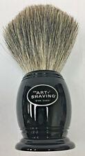 The Art of Shaving Pure Badger Shaving Brush not boxed 1 3/8 diam x 3 7/8 H