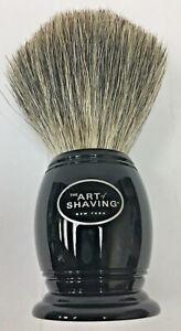 """The Art of Shaving Pure Badger Shaving Brush not boxed 2"""" diam x 4"""" H"""