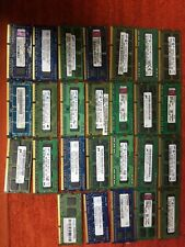 Mixe Lot Of 2gb Pc3 Laptop Ram (79ct)