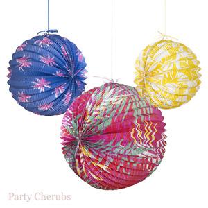 Paper Lanterns x 3 - Summer Party / Venue Decoration