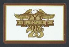 #930.433 vintage swap card -NEAR MINT- Harley Davidson 1903-1978, 75th anniv
