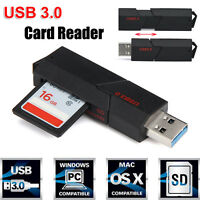 2in1 USB 3.0 High Speed 5 Gbps for Micro SD SDXC TF Memory Card Reader Adapter