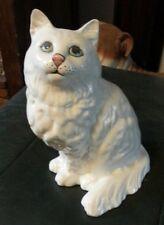 Beswick 8 in (environ 20.32 cm) Tall White Persian Cat #1867 Free p&p