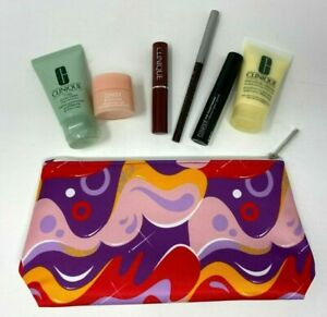 CLINIQUE 7 Piece Skincare & Makeup Set - Sealed - Aug 2021 Gift with Purchase