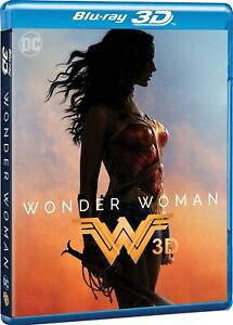 Wonder Woman Blu Ray 3D Nuovo Sigillato DC Comics 3 D