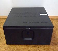 Blech- Kiste; Blechkiste; Transport-/ Aufbewahrung(s) Box, oliv 52x 53x 27,5 BW