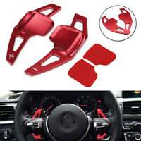 Red Steering Wheel Gear Shift Paddle Shifter Extended For BMW 3 F30 5 Series F10