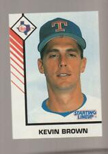 1993 Kenner Starting Lineup Kevin Brown card, New York Yankees star