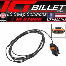 "96"" Resistor Wire Pigtail Convert 12v to Signal LS Gen III 4 pin Alternator 105A"