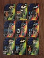 Star Wars POTF Lot ESB Episode V Yoda Han Lando 1995-98 Power of the Force