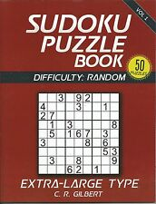 Sudoku Puzzle Book with Extra Large Type