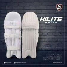 New listing SG Hilite White batting pads