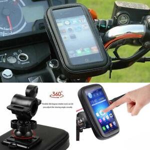 Handy Fahrrad MTB Halterung Wasserdicht Telefonkasten Fahrradtasche Rahmentasche