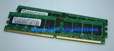 Samsung 2GB (2x1GB) DDR2 400 PC2-3200R-333 CL3  ECC Reg Server Memory RAM