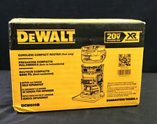 Dewalt DCW600B 20V MAX XR® Brushless Cordless Compact Router.