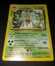 Carte Pokemon DARDARGNAN 17/102 Rare Set de Base Wizard Française
