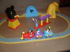 Disney Store Mickey Mouse Clubhouse Train Set Excellent  pre owned condition