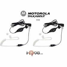 Motorola 1518 Talkabout Surveillance Headset Accs W/ Ppt Mic F/all Talkabout