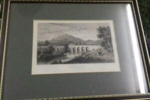 9 x 7 picture of abergavenny llanfoist bridge