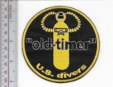 SCUBA Diving USA US Divers Aqua-Lung Mid 1960 to mid 1970 ''Old Timer'' ye on bl